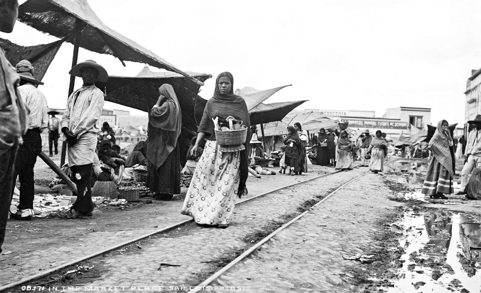 In the market place, San Luis Potosí, Mexico, 1880-97b (1)